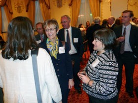 Rebecca Chopp and guests after the Washington, D.C. event
