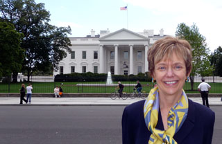 Rebecca Chopp in Washington, D.C.