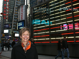 Rebecca Chopp in New York City